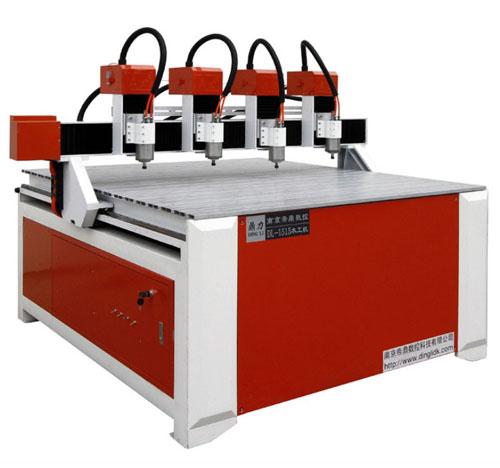 CNC高精雕多头伺服雕刻机1515-4T