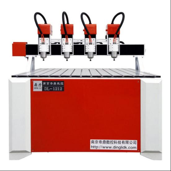 CNC高精雕多头伺服雕刻机1212-4T